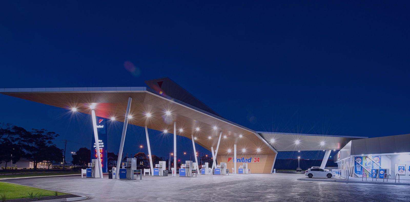 SloanLED Petroleum Lighting Solutions United Petroleum